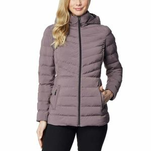 32 Degrees Ladies' Hooded 4-Way Stretch Jacket